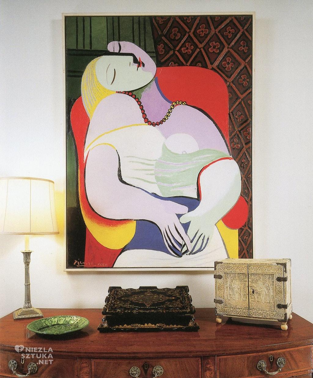Picasso Pablo, Sen, Le Reve, Niezła sztuka