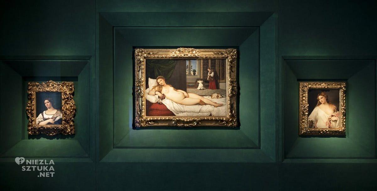 Tycjan, Wenus z Urbino, Florencja, Uffizi, malarstwo włoskie, Niezła sztuka
