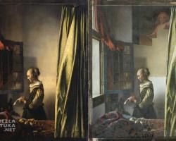 Vermeer czytająca list, niezła sztuka