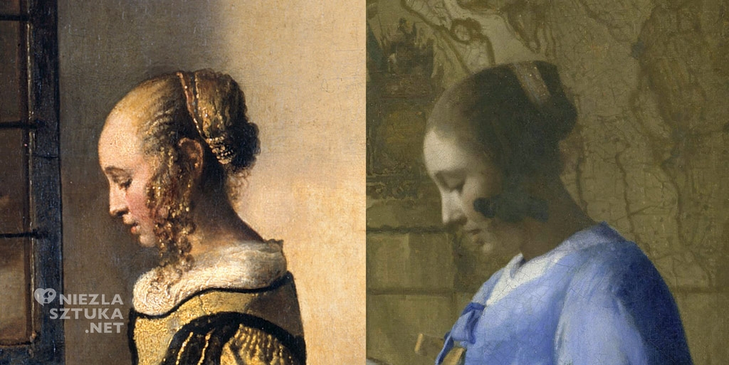 czytająca list, Vermeer żona, Niezła sztuka