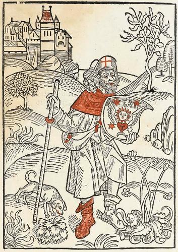 Albrecht Dürer, Pielgrzym, wędrowiec, Niezła sztuka