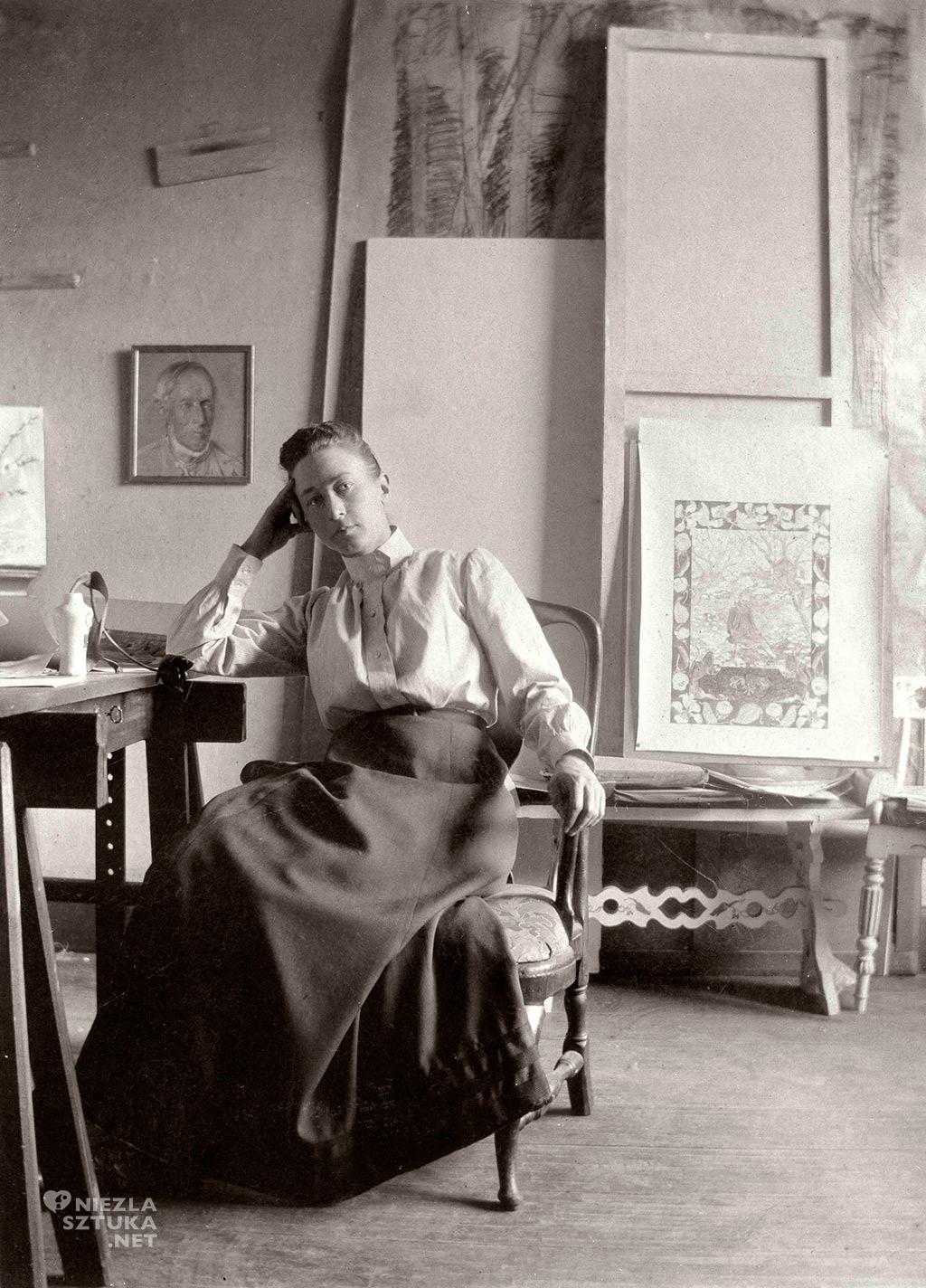 Hilma af Klint, malarstwo abstrakcyjne, Niezła sztuka