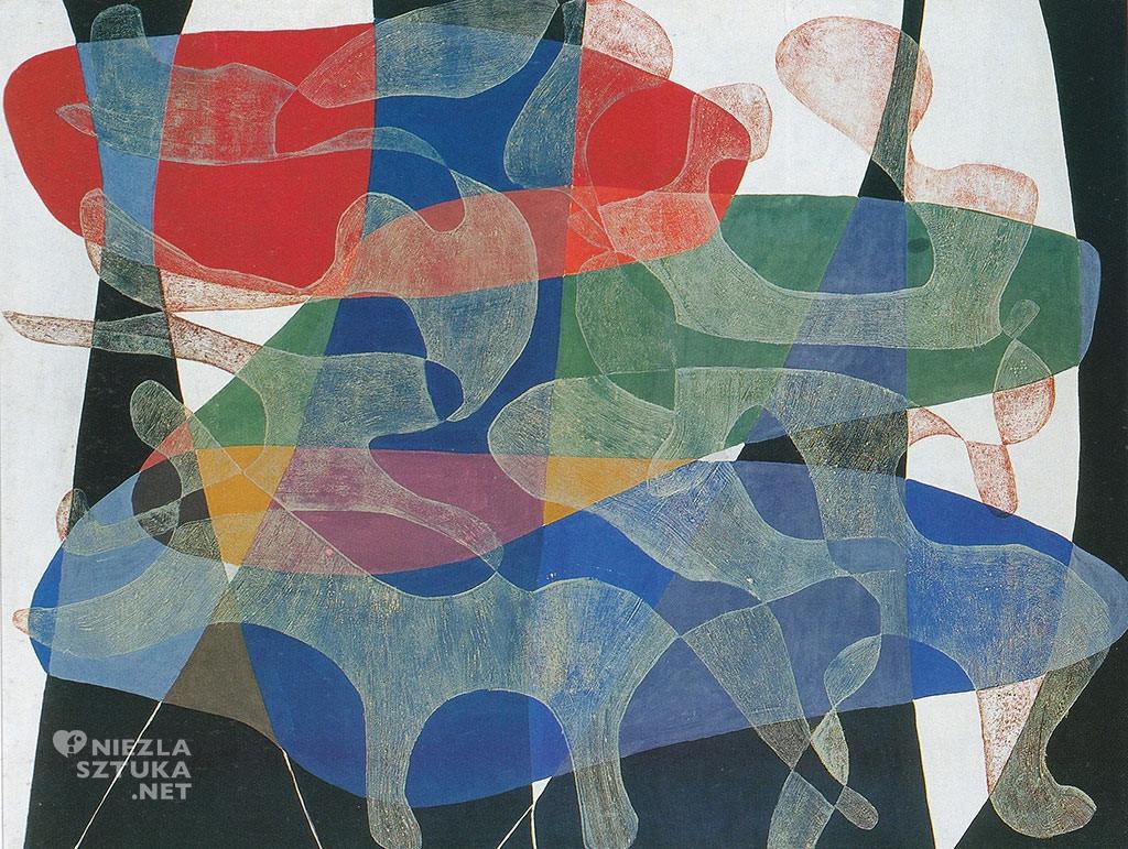 Maria Jarema, obraz, Penetracje, Niezła Sztuka