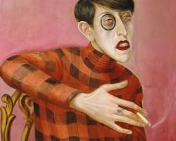 Otto Dix, Portret dziennikarki Sylvii von Harden, Sylvia von Harden.Niezła Sztuka