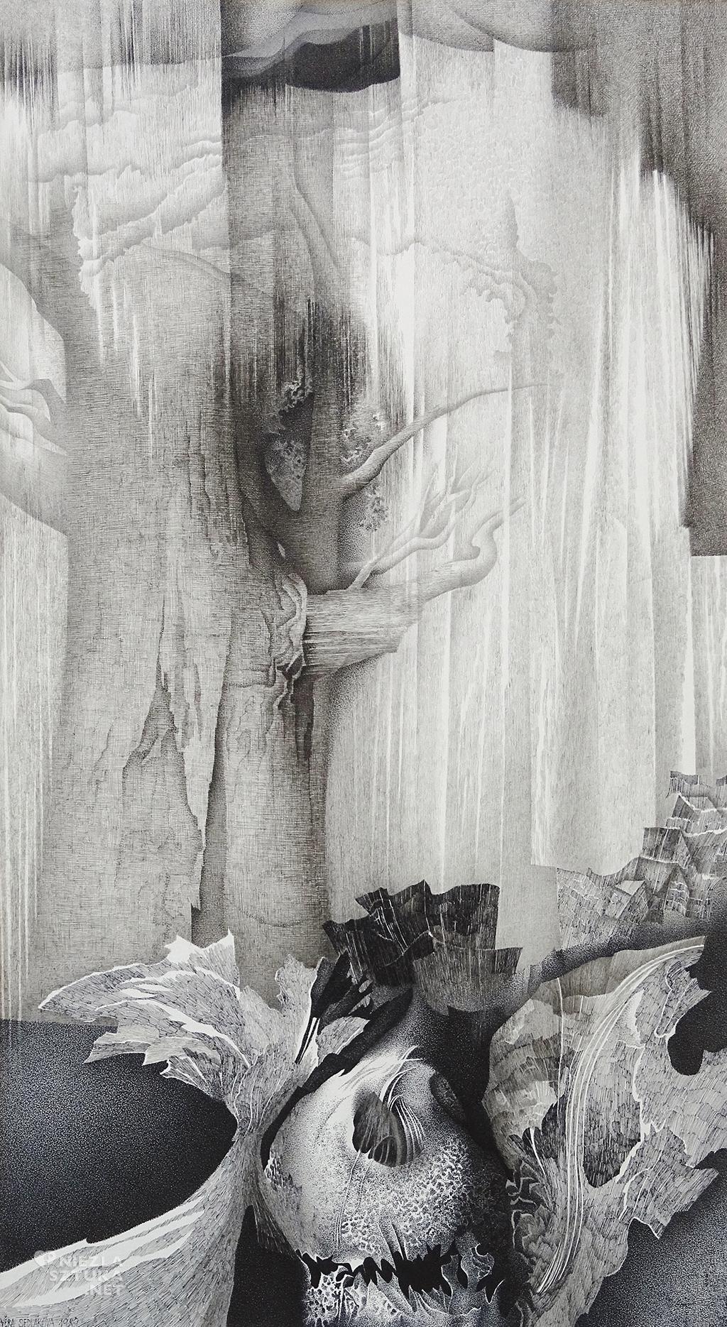 Vera Sedlakova, artystka czeska, rysunek, malarstwo, Niezła sztuka