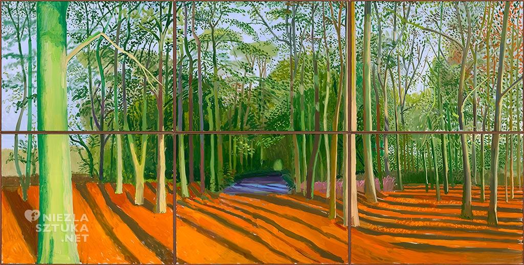 David Hockney, Las Woldgate, malarstwo, sztuka współczesna, Niezła Sztuka