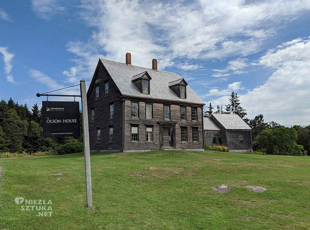 Dom Olsonów, Świat Christiny, Grant Wood. Farnsworth Art Museum, Niezła sztuka