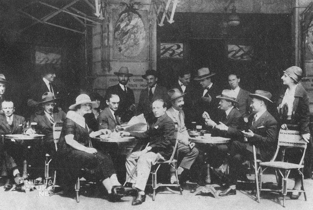 kawiarnia La Rotonde, École de Paris,