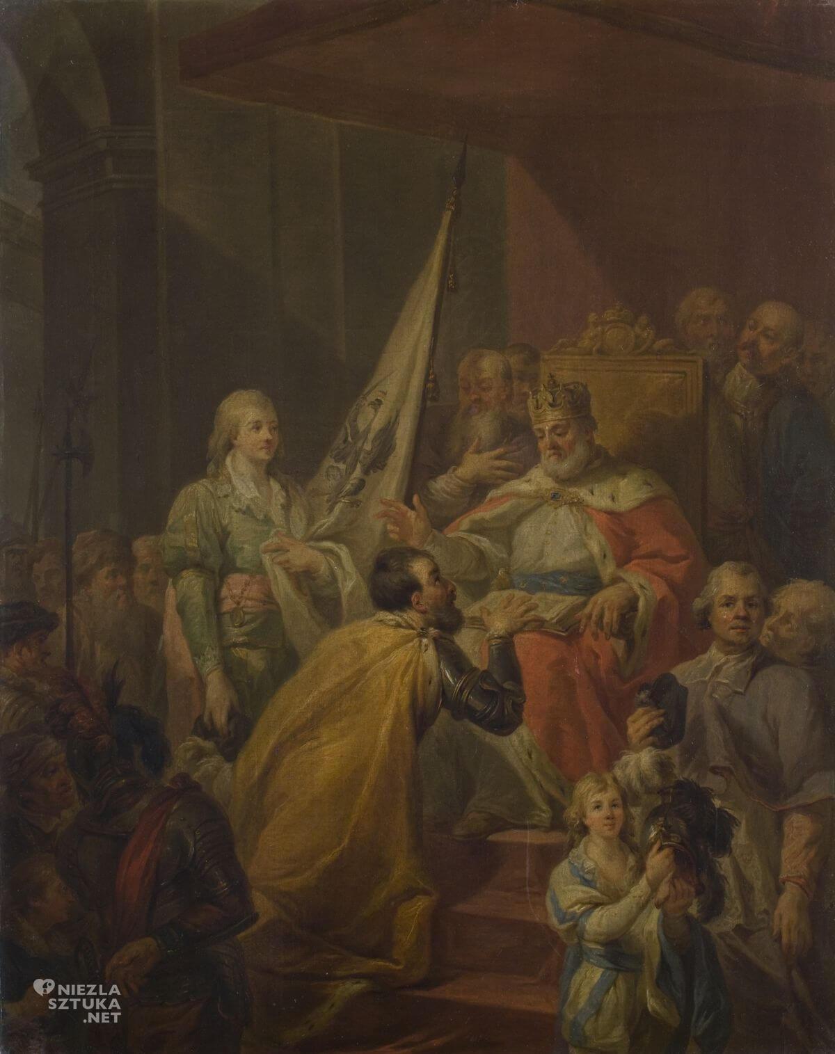 Marcello Bacciarelli, Hołd pruski, Niezła sztuka
