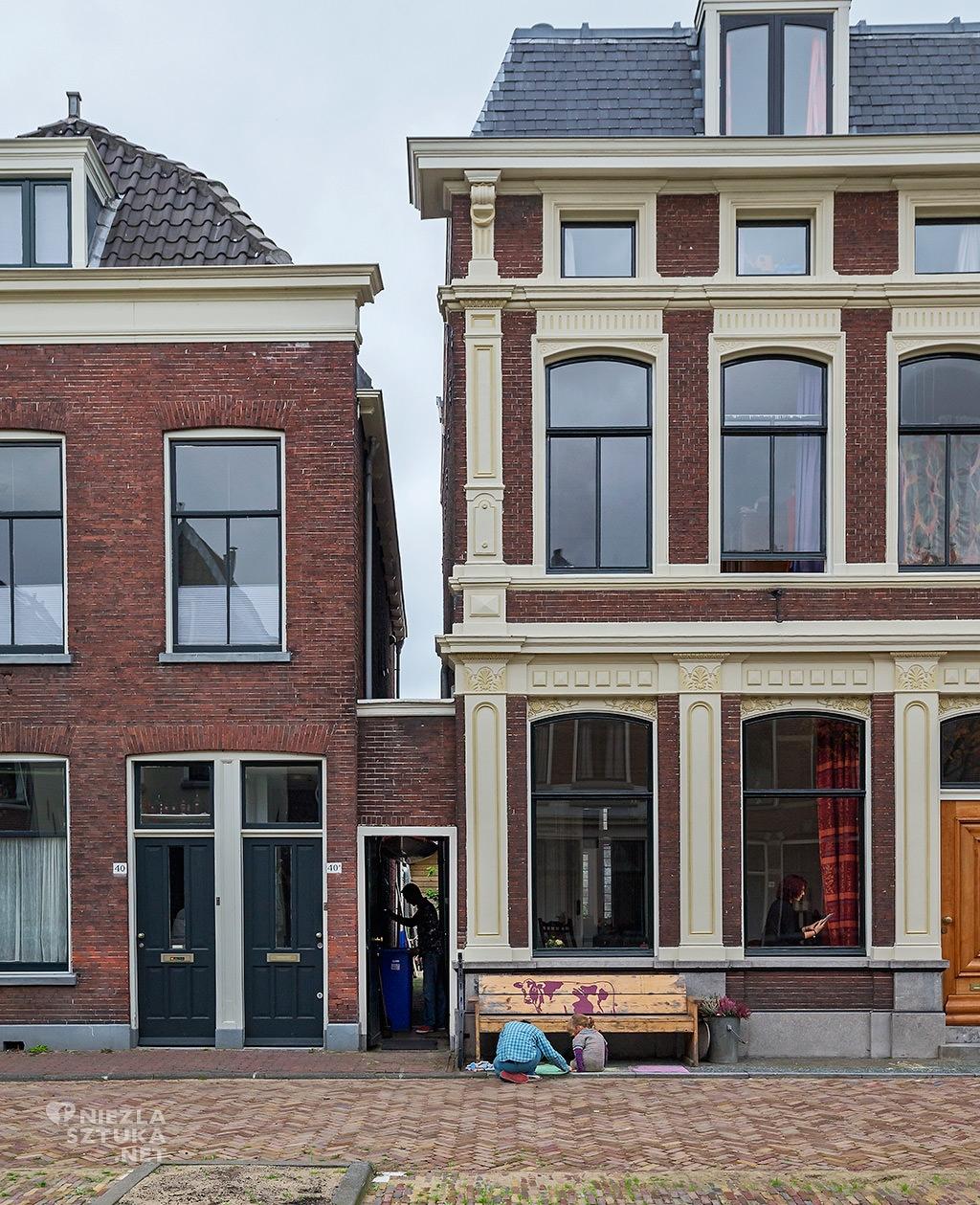 johannes Vermeer uliczka, Delft, Niezła sztuka