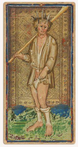 karta tarota, Visconti Sforza, głupiec, Niezła sztuka