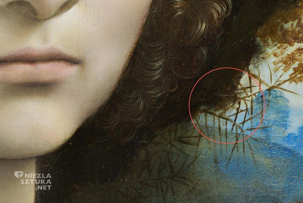 Leonardo da Vinci, portret, Ginevra Benci