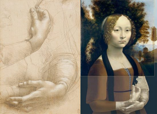 Leonardo da Vinci, Ginevra Benci