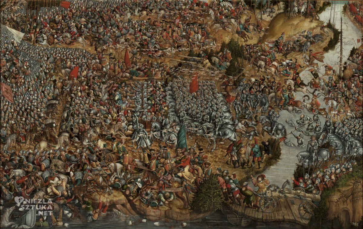 Malarz z kręgu Lukasa Cranacha Starszego, Bitwa pod Orszą 8 IX 1514, Niezła sztuka