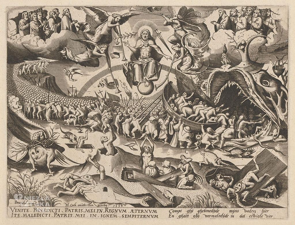 Pieter Bruegel Starszy, Sąd Ostateczny, grafika, Niezła sztuka