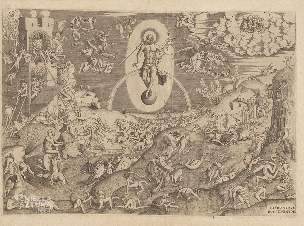 Hieronim Bosch, Sąd Ostateczny, grafika, Niezła sztuka