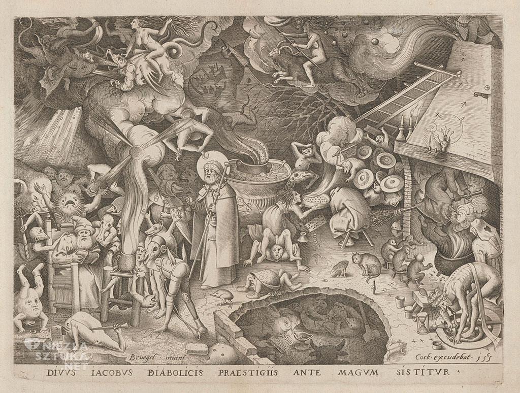 Pieter Bruegel Starszy, Św. Jakub Większy, grafika, Niezła sztuka