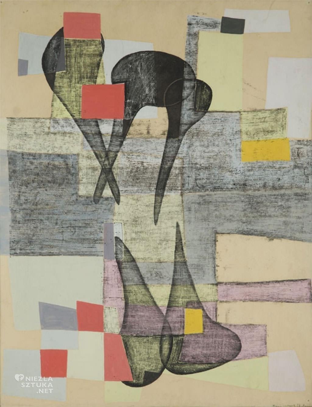 Maria Jarema, obraz, malarka, Niezła Sztuka