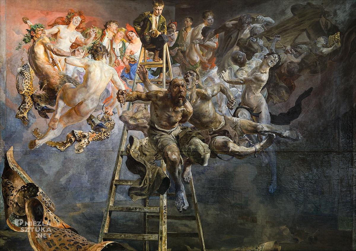 Jacek Malczewski, Błędne koło, symbolizm, malarstwo polskie, Niezła sztuka