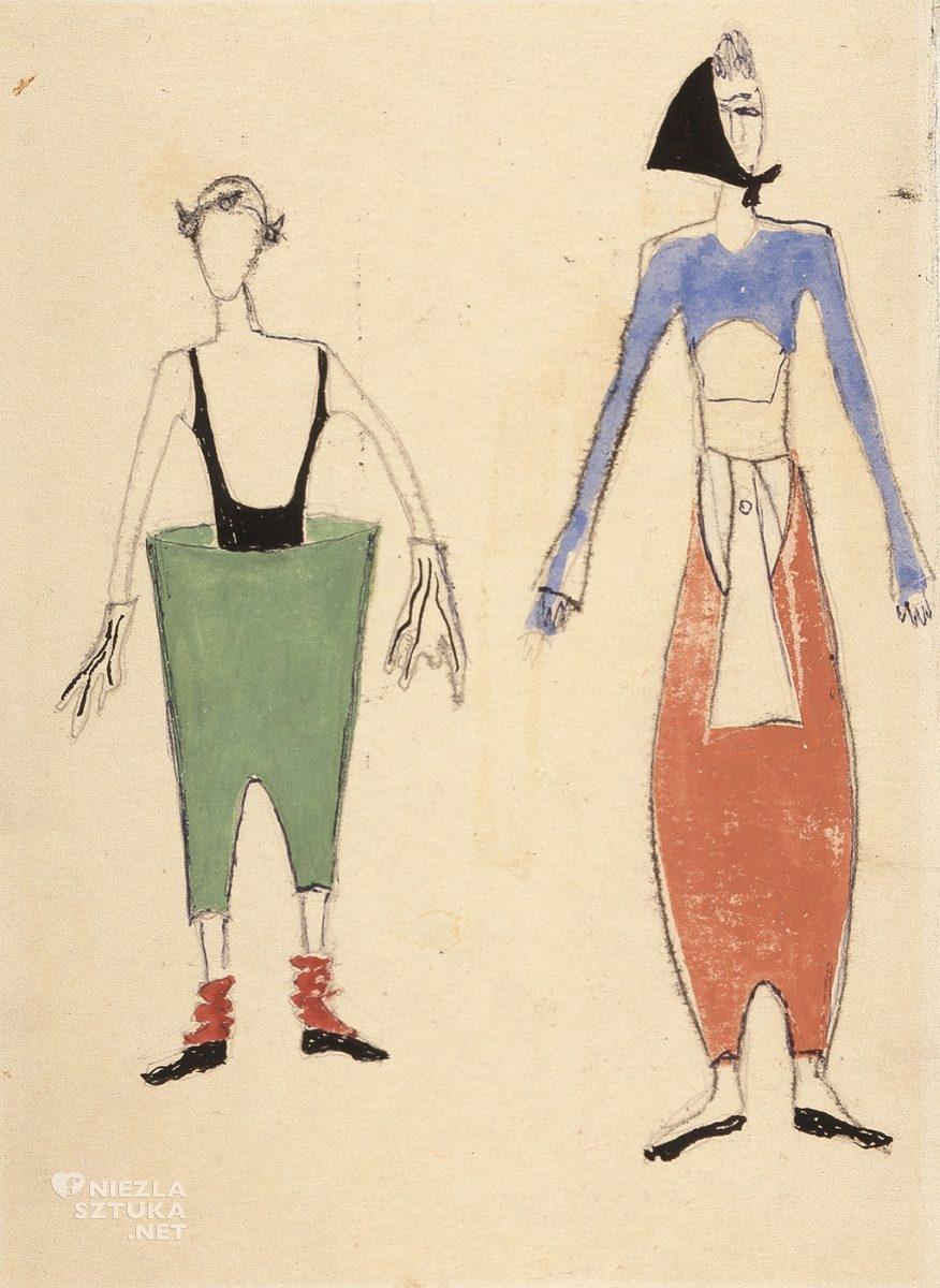 Maria Jarema, projekt kostiumów, Niezła sztuka