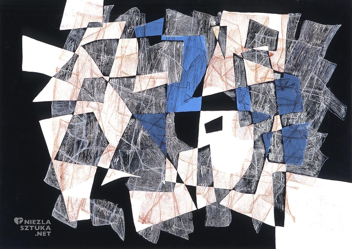 Maria Jarema, obraz, Penetracje, sztuka polska, malarstwo, niezła sztuka