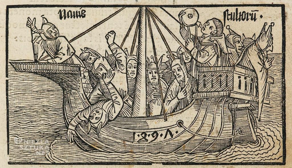 Statek szaleńców, statek głupców, Sebastian Brants, książka, sztuka niemiecka, Niezła Sztuka