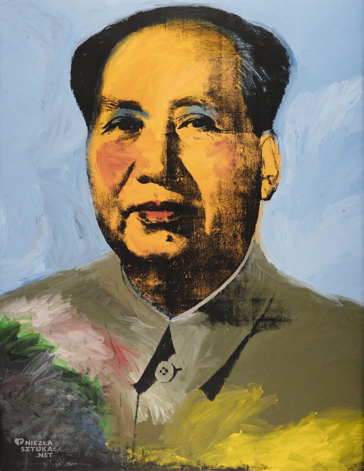 Andy Warhol, Mao, sitodruk, pop-art, Niezła Sztuka