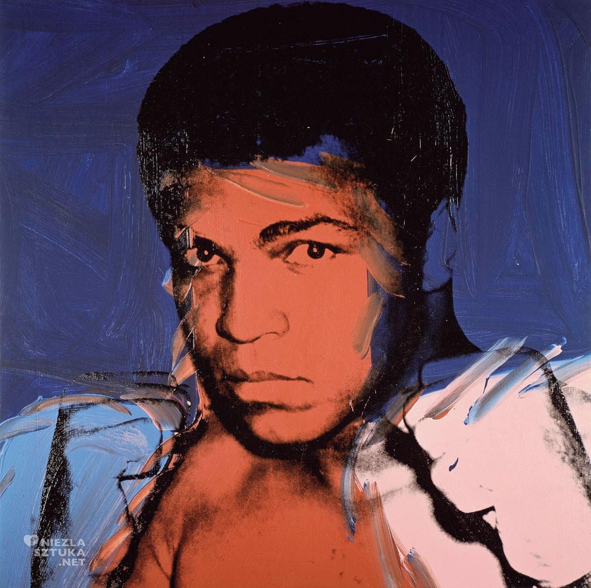 Andy Warhol, Muhammad Ali, sitodruk, pop-art, Niezła Sztuka