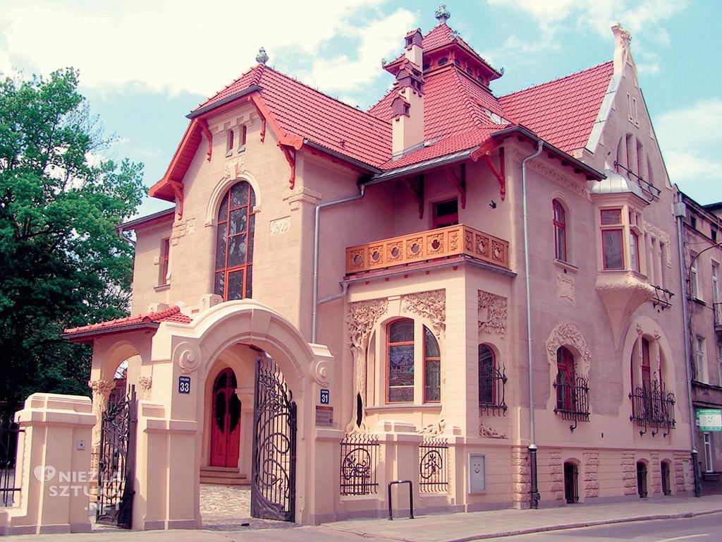Galeria Willa, witraż, willa Kindermanna, Łódź, Niezła sztuka