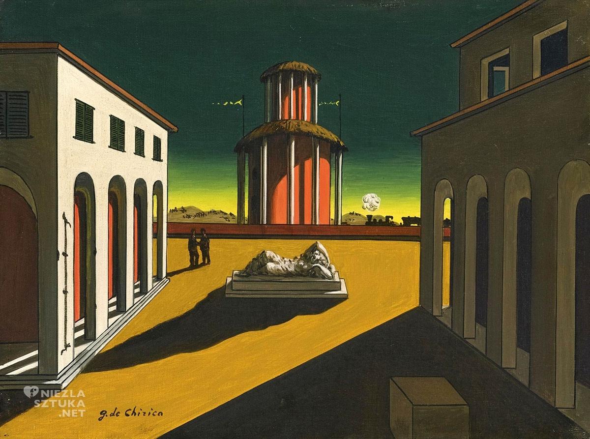Giorgio de Chirico, Piazza d'Italia, Niezła sztuka