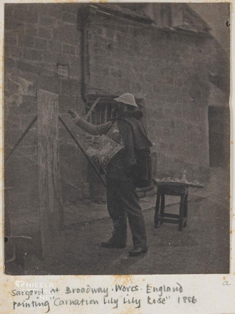 John Singer Sargent, malarstwo amerykańskie, artysta przy sztalugach, Niezła sztuka