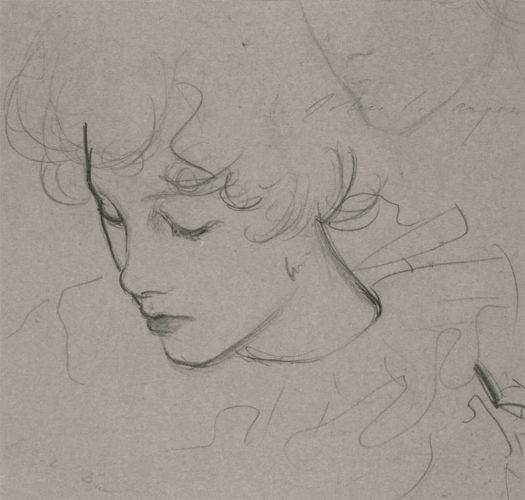 John Singer Sargent, Goździk, lilia, lilia, róża, malarstwo amerykańskie, dziecko w sztuce, szkic, Niezła sztuka