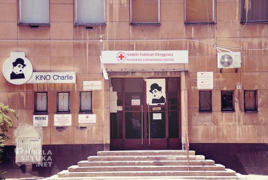 Kino Charlie, Łódź, spacer po Łodzi, Niezła Sztuka