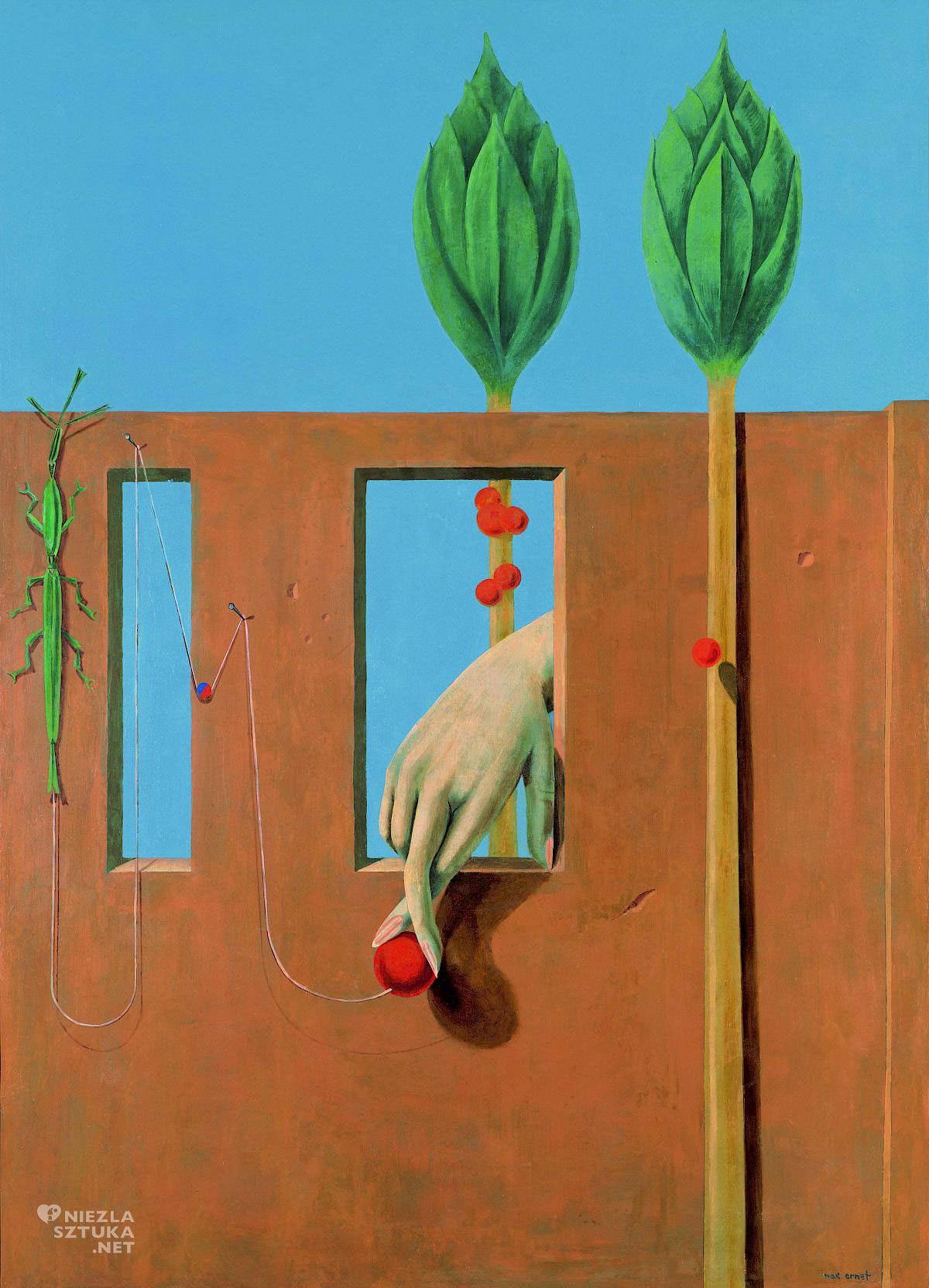 Max Ernst, Przy pierwszym jasnym słowie, surrealizm niemiecki, surrealizm, malarstwo niemieckie, Niezła Sztuka