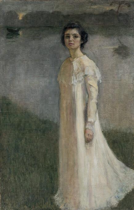 Mela Muter, malarka polska, autoportret, Niezła sztuka