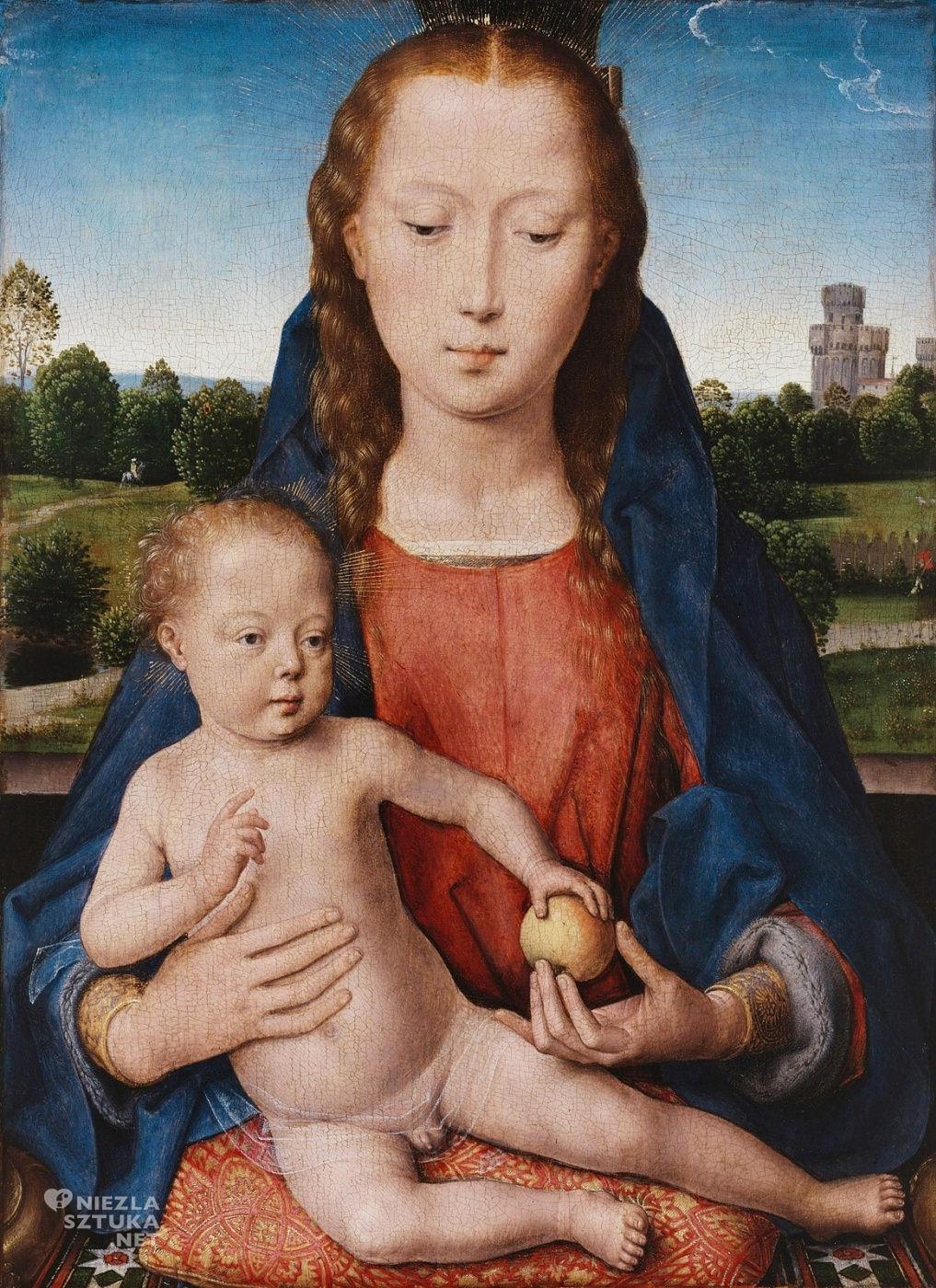 Hans Memling, tryptyk, Portinari, Madonna, malarstwo niderlandzkie, Niezła sztuka