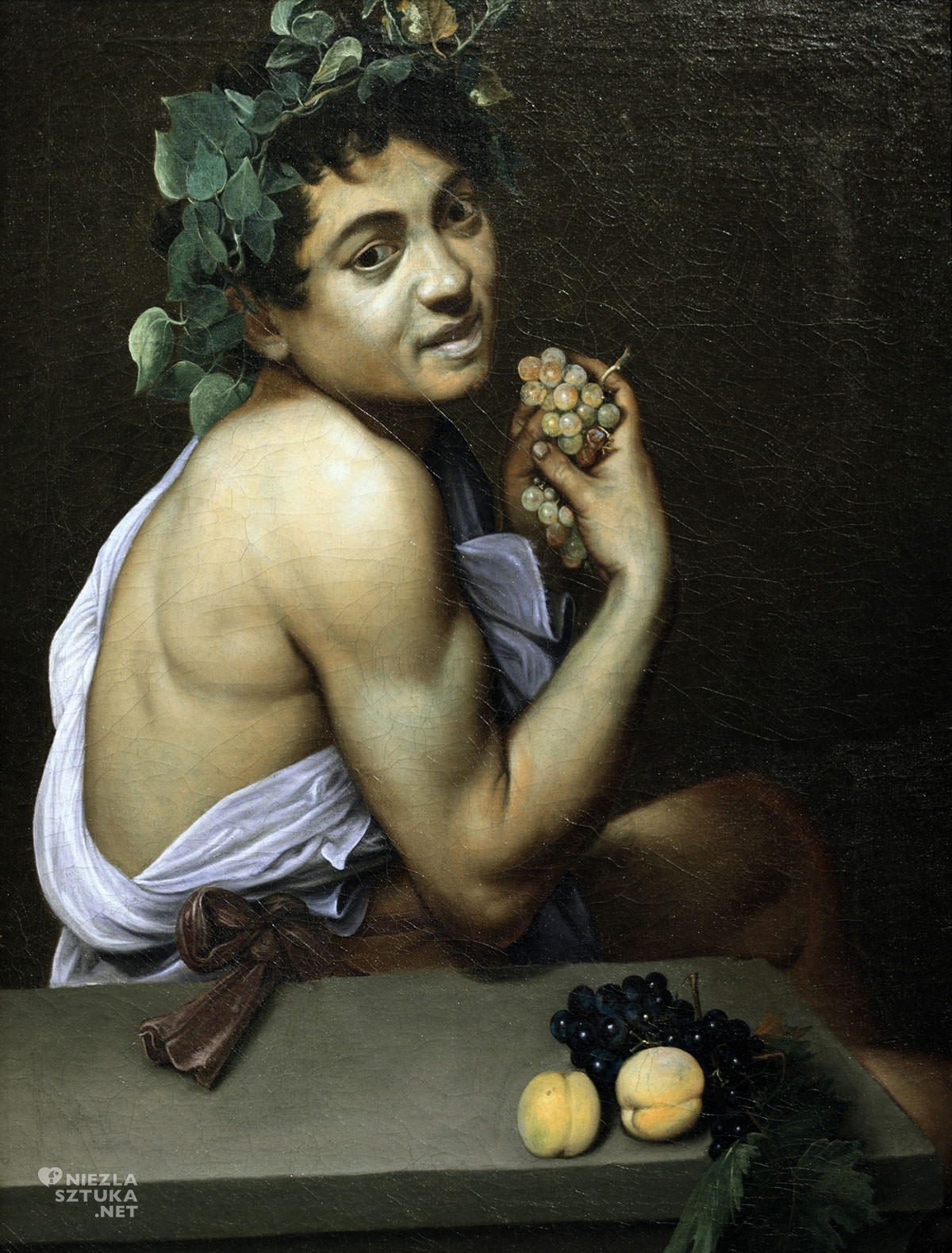 Caravaggio, Chory Bachus, autoportret, Niezła sztuka