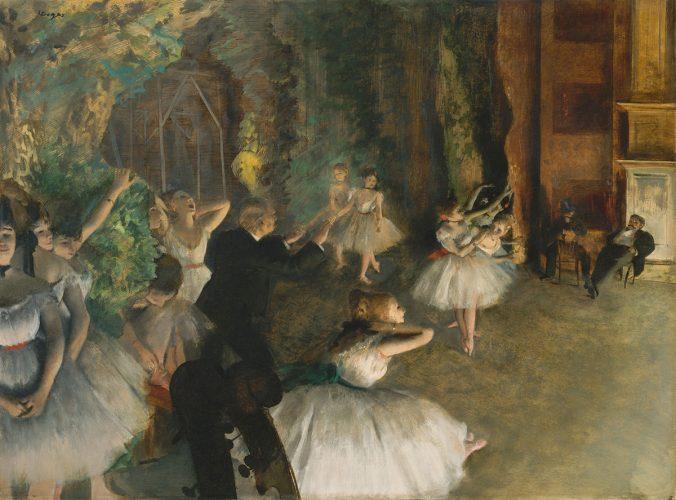Edgar Degas, balet, baletnica, tancerki, Niezła sztuka