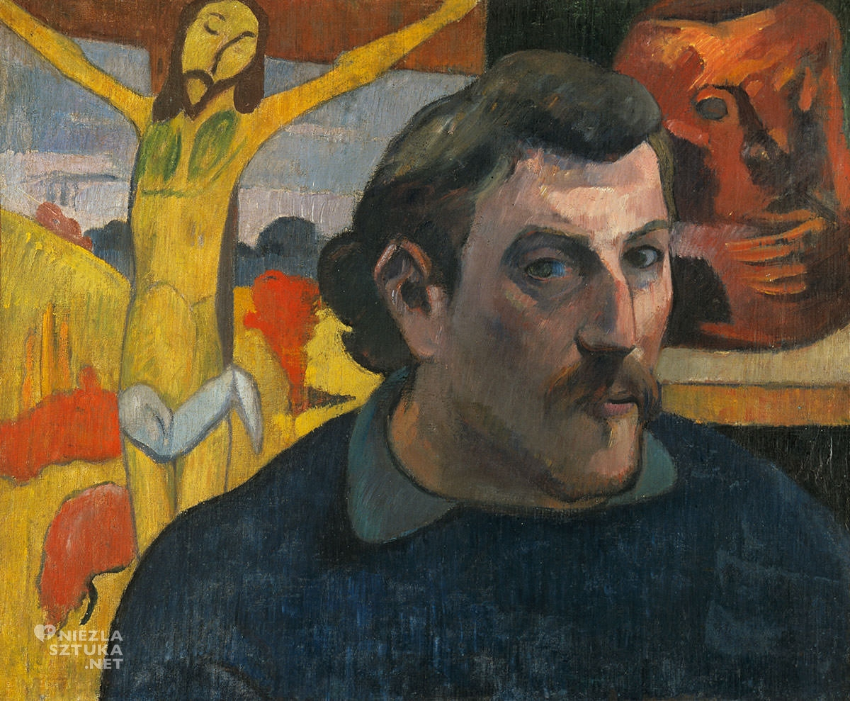Paul Gauguin, Autoportret z żółtym Chrystusem, Autoportret, Niezła Sztuka