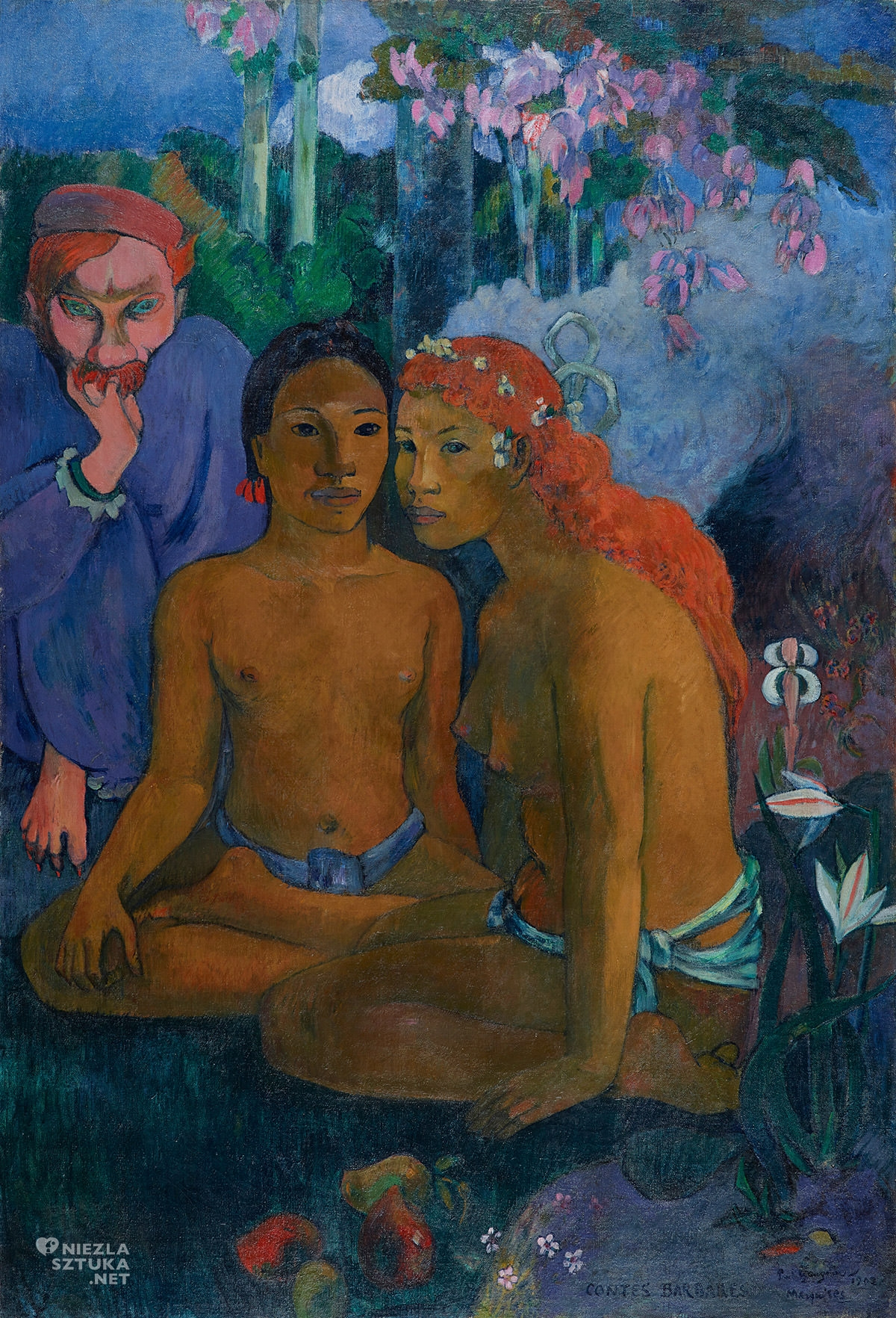 Paul Gauguin, Contes barbares, Tahiti, Niezła sztuka