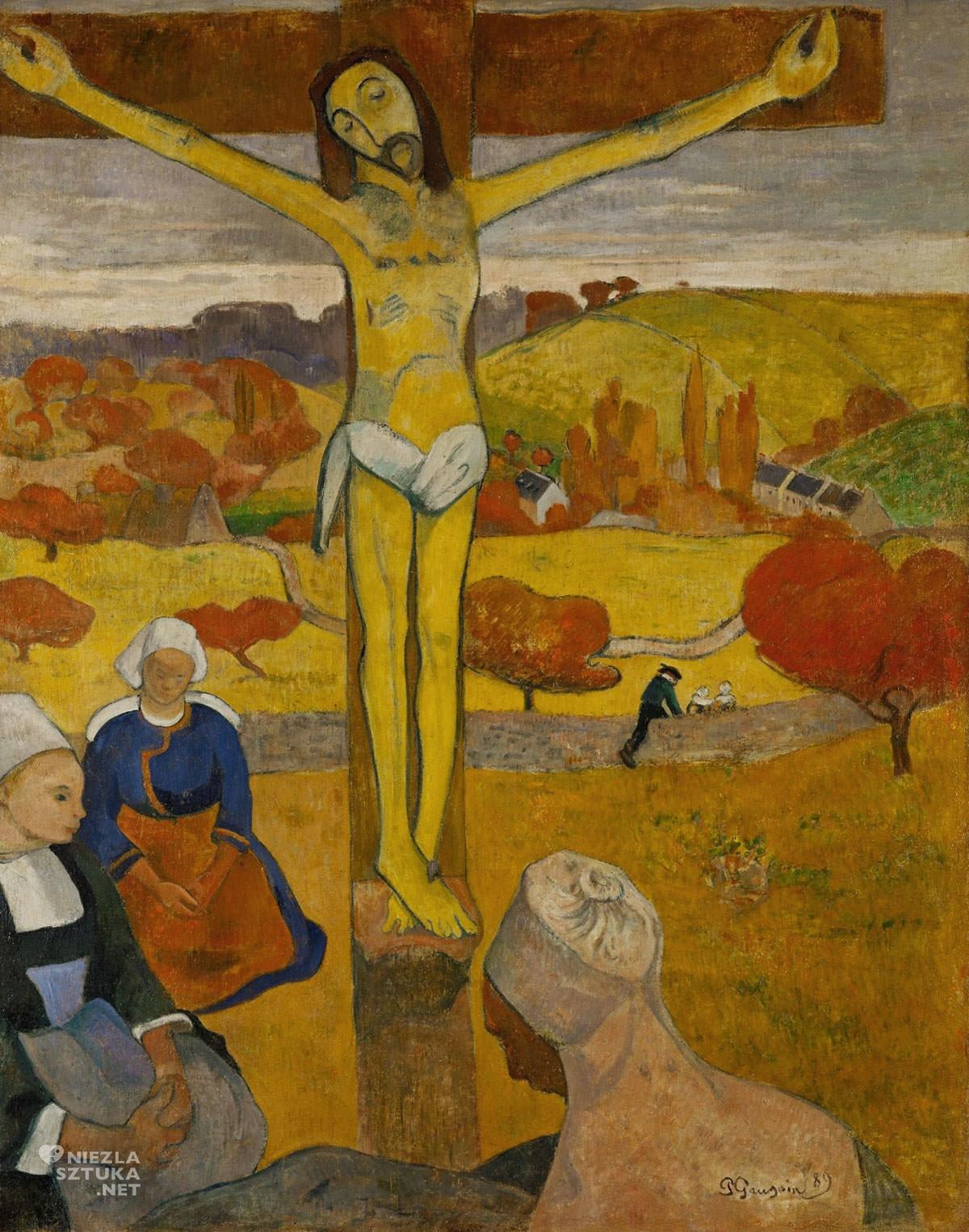 Paul Gauguin, Żółty Chrystus, symbolizm, Niezła Sztuka