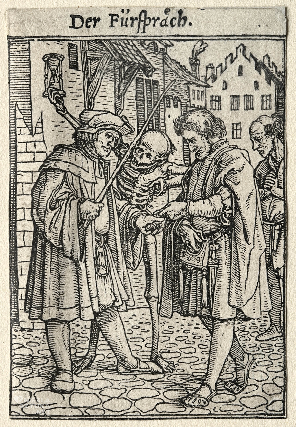 Hans Holbein, Taniec śmierci, Niezła sztuka