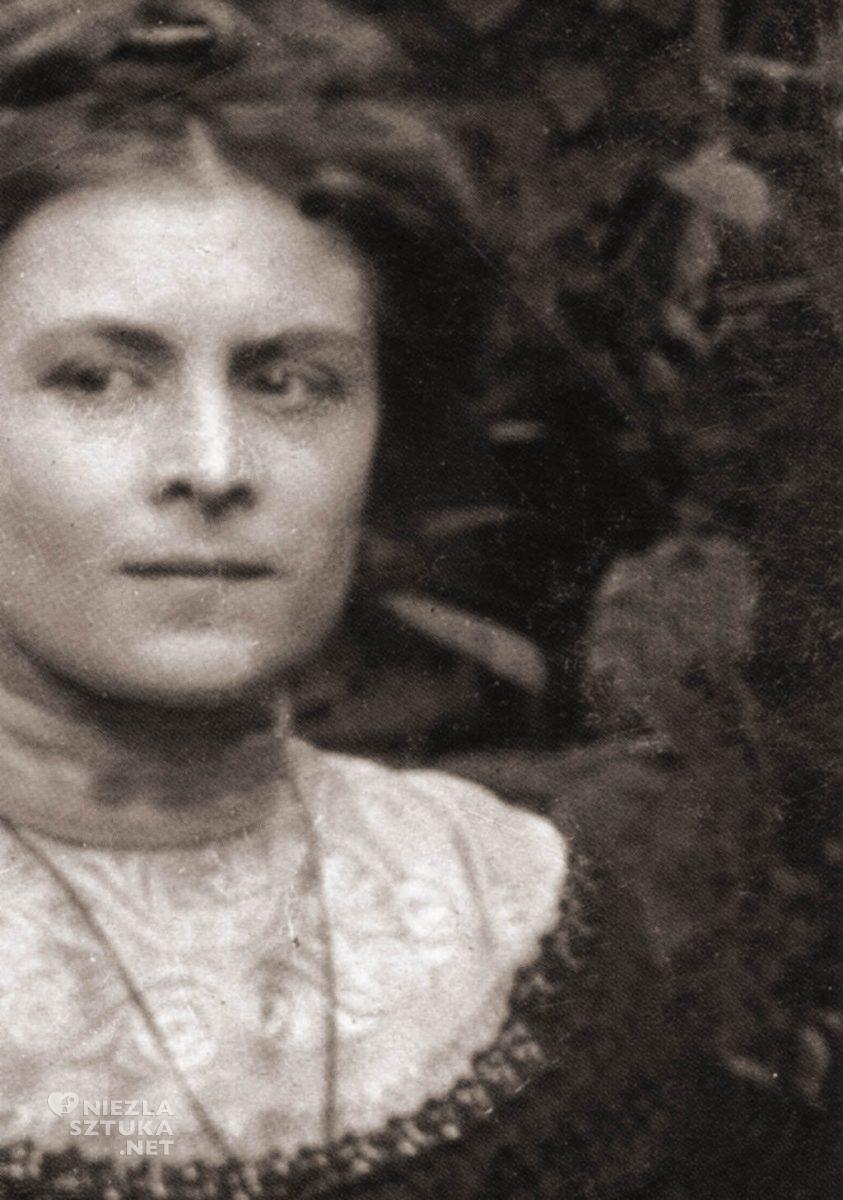 Maria Balowa, fotografia, Jacek Malczewski, muza, Niezła sztuka