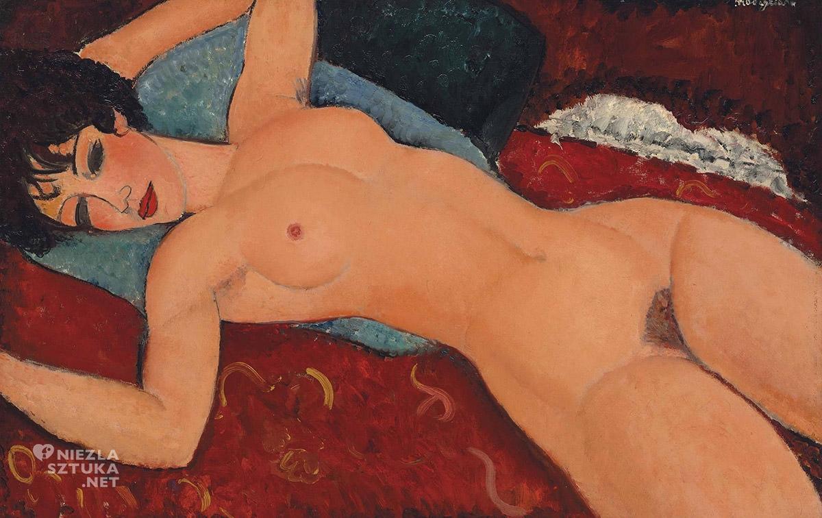 Amedeo Modigliani, Nu couché, akt, Niezła sztuka