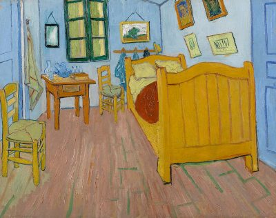 Vincent van Gogh, Sypialnia Vincenta w Arles, Van Gogh Museum, Amsterdam, Niezła Sztuka