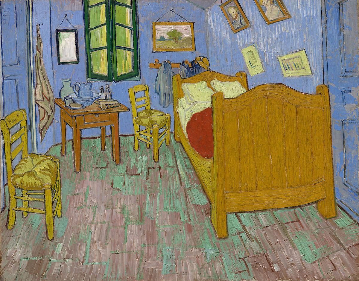 Vincent van Gogh, Sypialnia, sypialnia artysty w Arles, The Art Institute Chicago, Niezła Sztuka