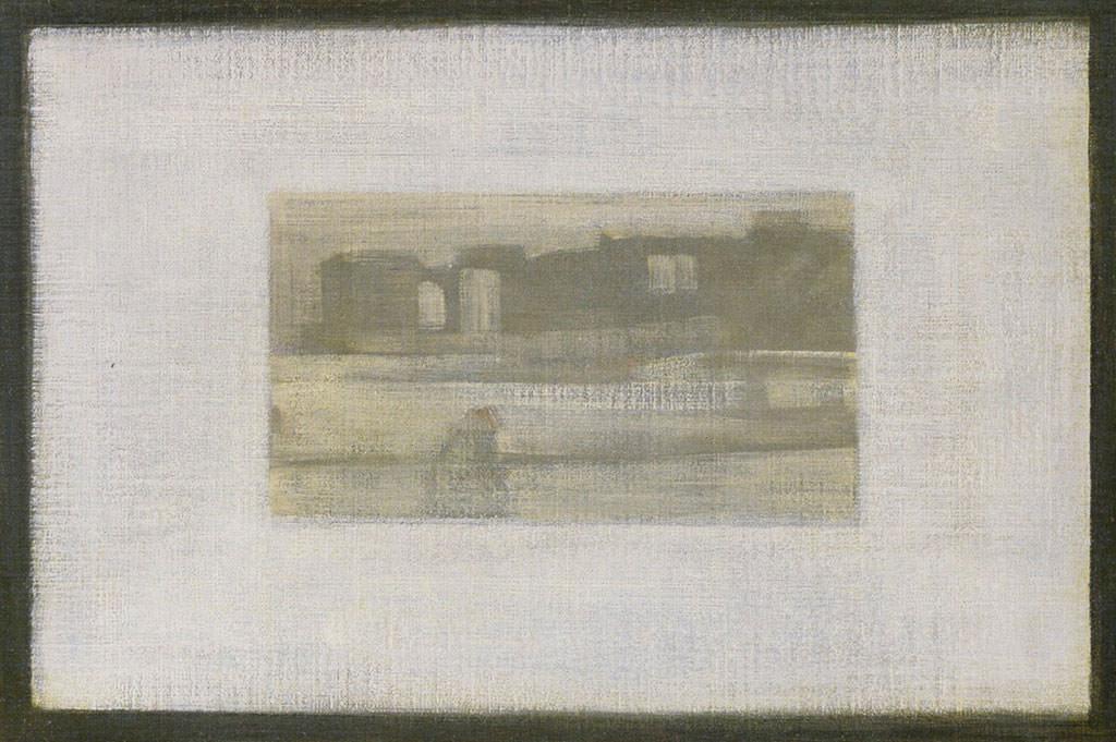 James Abbott McNeill Whistler, Matka Whistlera, detal, obraz w obrazie Musée d'Orsay, Niezła sztuka