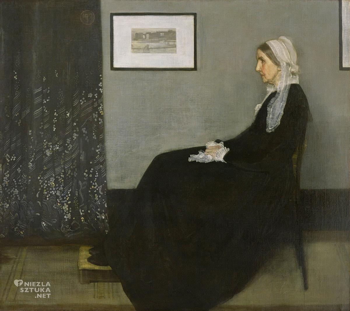 James Abbott McNeill Whistler, Matka Whistlera, Musée d'Orsay, Niezła sztuka