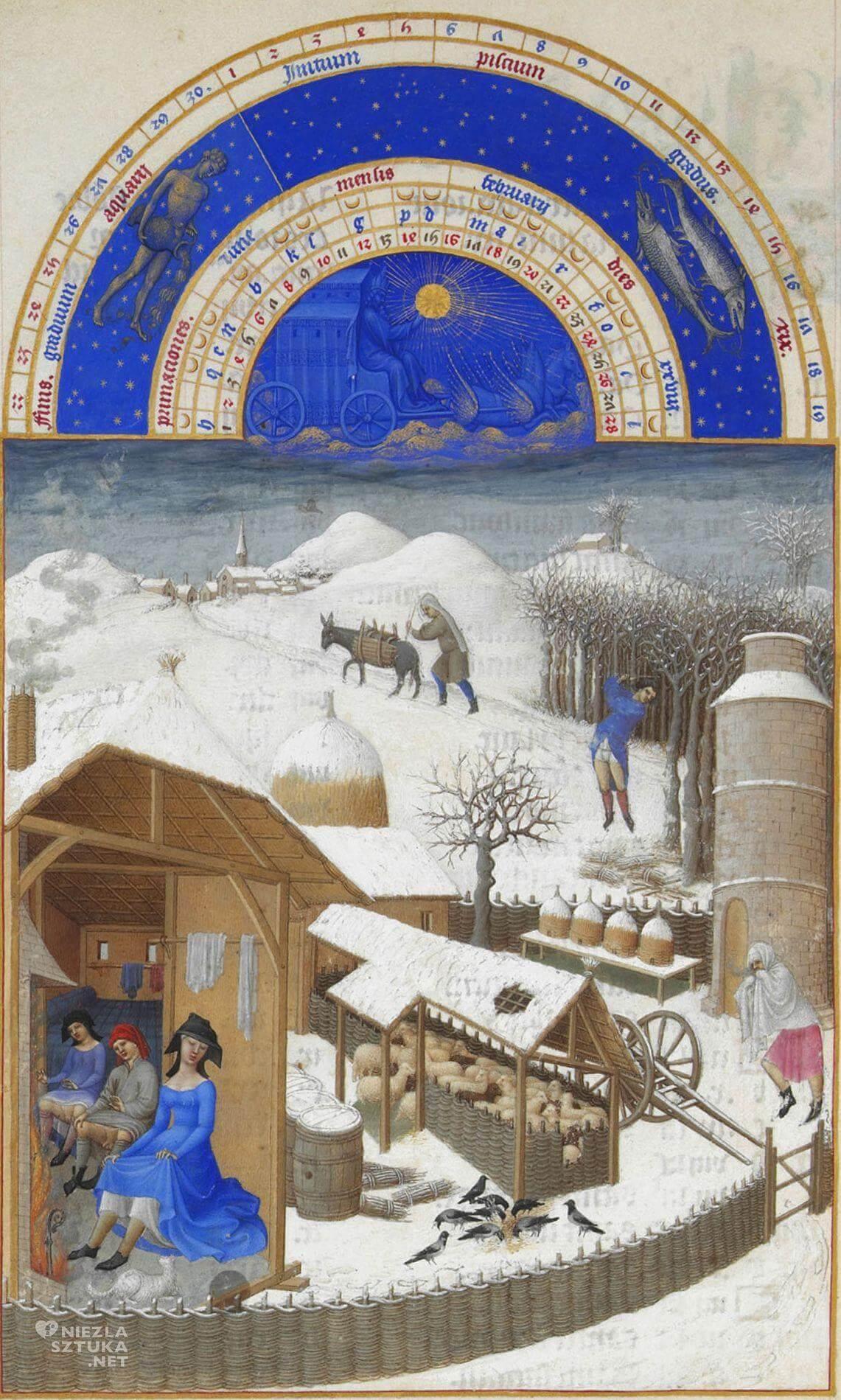 Bracia Limburg, Bardzo bogate godzinki księcia de Berry, Niezła sztuka
