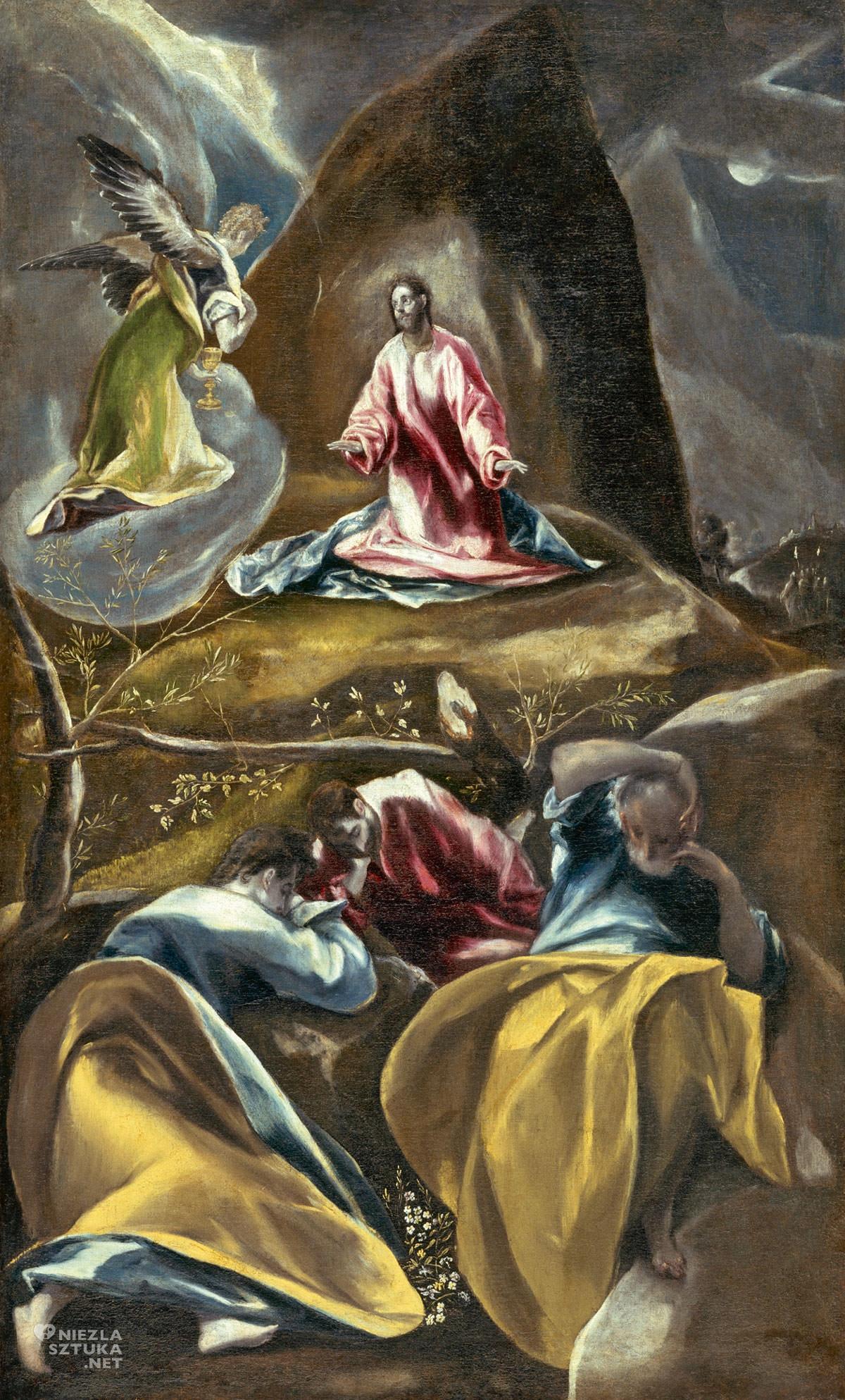 El Greco, Chrystus w Ogrodzie Oliwnym, malarstwo, biblia w malarstwie, Niezła sztuka